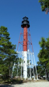 carrabelle lighthouse 168x300 Crooked River Lighthouse Carrabelle Florida